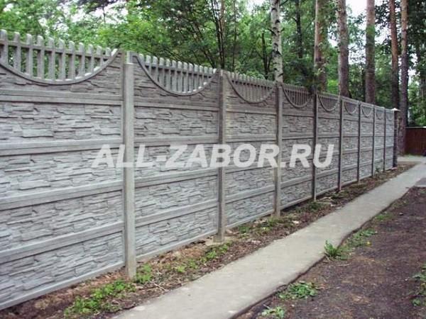 Декоративный забор из бетона купить в липецке бетонная сухая смесь emaco